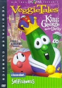 0012220728   DVD Veggie Tales King George & The Ducky