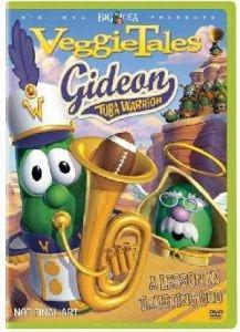 5558140410 | DVD Veggie Tales/Gideon Tuba Warrior