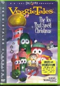 7901005149 | DVD Veggie Tales Toy That Saved Christmas