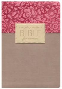 1619700123 | NLT Everyday Matters Bible For Women Rose Khaki Flexisoft