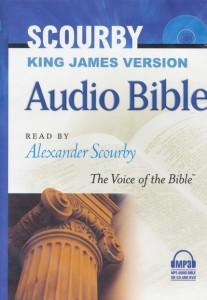 1598563599   KJV Scourby Complete Bible MP3 plus DVD