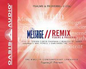 1598594621 | The Message: Psalms & Proverbs Audio Bible Voice Only