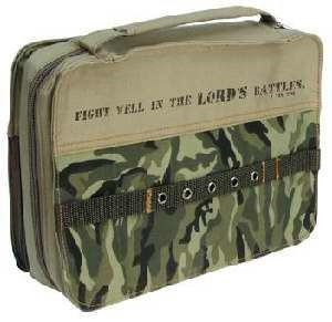 367394 | Bible Cover Fight Well In The Lord, Camouflage