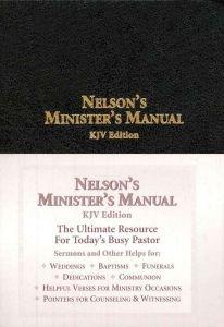 0785252584 | KJV Nelson's Minister's Manual
