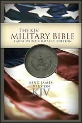1586403656   KJV Military Bible Large Print Compact-Grn Bond