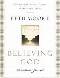 080543190X | Believing God Devotional Journal