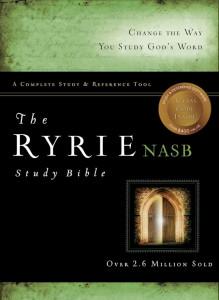 0802484603 | NASB Ryrie Study Bible