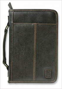 0310822521 | Bible Cover Aviator Leather Look