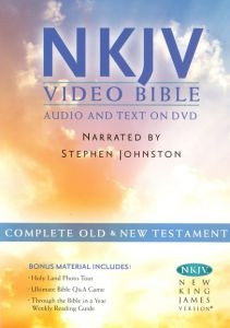 159856711X | DVD NKJV Holy Bible