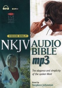 1598562789 | Disc NKJV Complete Voice Only MP3