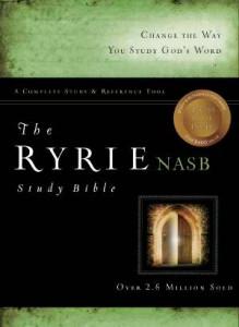 080248459X | NASB Ryrie Study Bible Black Genuine Leather