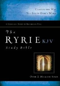 0802489087 | KJV Ryrie Study Bible
