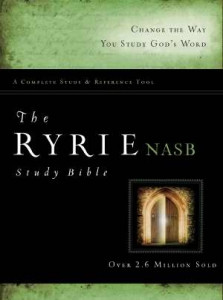0802484700 | NASB Ryrie Study Bible-RL-Hardcover Indexed