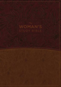0718086775 | NKJV Woman'S Study Bible Brown Burgundy Leathersoft