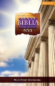 0829755578 | NVI Large Print Bible