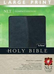 1414334249 | NLT Large  Print Compact Edition Bible, TuTone