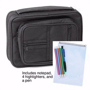655461 | Bible Cover Canvas Organizer  with Study Kit