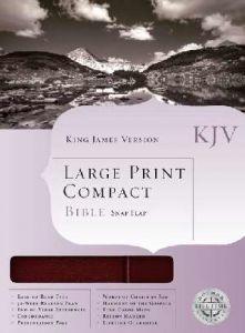 1558198814 | KJV  Large Print Compact Bible