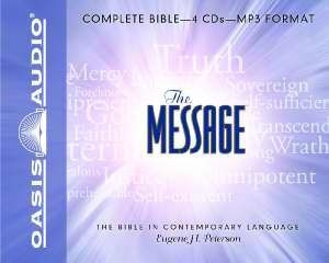 1598594567 | The Message Bible Complete MP3