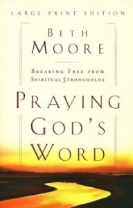 0802727883 | Praying God's Word Large Print Edition