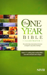 1414389817 | NIV One Year Bible Illustrated Bible