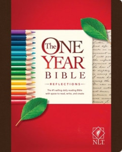 1496416783 | NLT2 One Year Bible Reflections Edition Hardcover