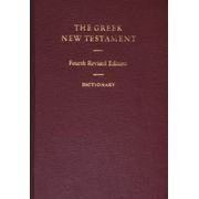 1598567209 | The Greek New Testament with Greek-English Dictionary, 4th Revised edition