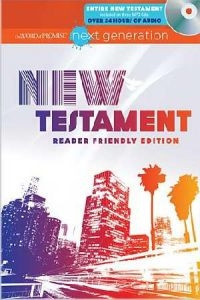 1400315638 | The Word of Promise Next Generation New Testament with MP3 CD-ROMs