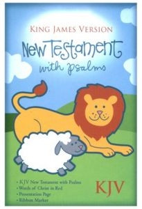 1586400819 | Holman Christian Standard Bible Baby's New Testament with Psalms - White