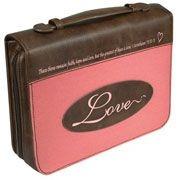364048 | Bible Cover Patch Applique Love