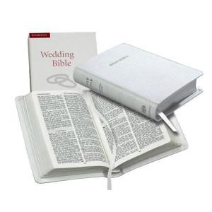 0521696100 | KJV Wedding Bible Imitation