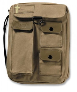 031080292X | Bible Cover Cargo Compartment Khaki