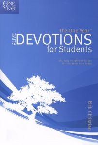 1414313748 | One Year Alive Devotions For Students