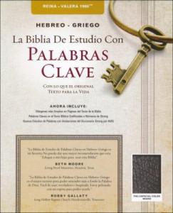 0899579191 | Span RVR 1960 Hebrew Greek Key Word Study Bible-Black Bonded Leather