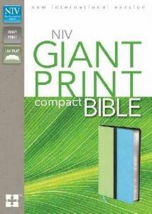 0310435323 | NIV Giant Print Compact Bible