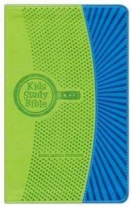 1619706989 | KJV Kids Study Bible Green Blue FlexiSoft