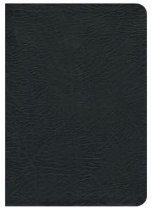 1418542296 | NASB Study Bible Large Print Black Bonded Thumb-Indexed