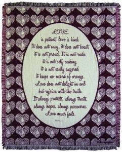 045040   Blanket-Love Chapter-Throw
