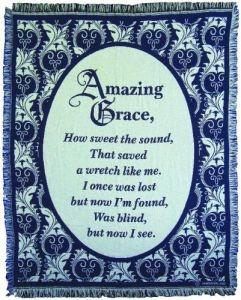 045041 | Blanket Amazing GraceThrow