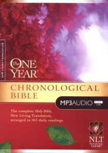 1414336527   NLT Complete One Year Chronological Audio Bible on MP3