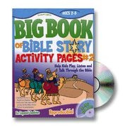 0830752269 | Big Book Of Bible Story Activity Pages V2
