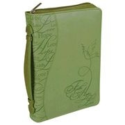 366776 | Bible Cover Trendy LuxLeather Faith Hope