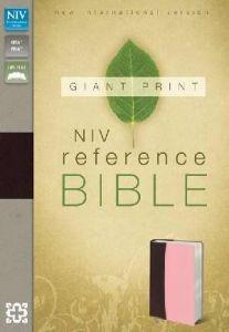 0310434998 | NIV Giant Print Reference Bible