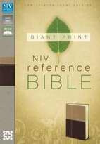 031043498X | NIV Giant Print Reference Bible