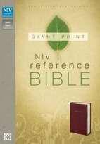 031043503X | NIV Giant Print Reference Bible