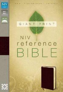 0310435048 | NIV Giant Print Reference Bible