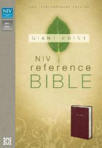 0310435056 | NIV Giant Print Reference Bible