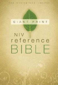 0310435005 | NIV Giant Print Reference Bible New Updated