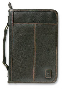 0310823706   Bible Cover Aviator Leather Look XLG