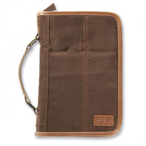0310823870   Bible Cover Aviator Suede XLG